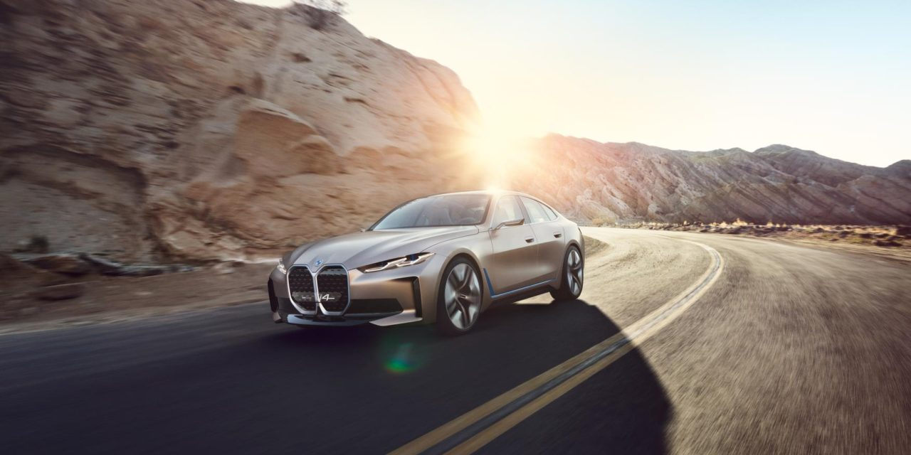THE SOUND OF THE BMW CONCEPT i4