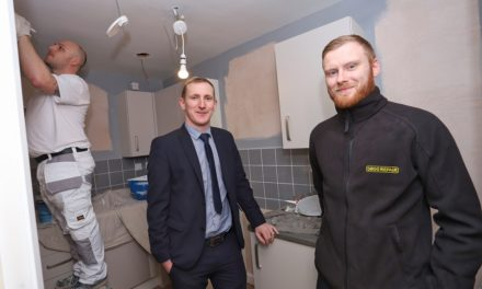 Major home refurbishment programme for 0800 Repair's social housing division for Bernicia