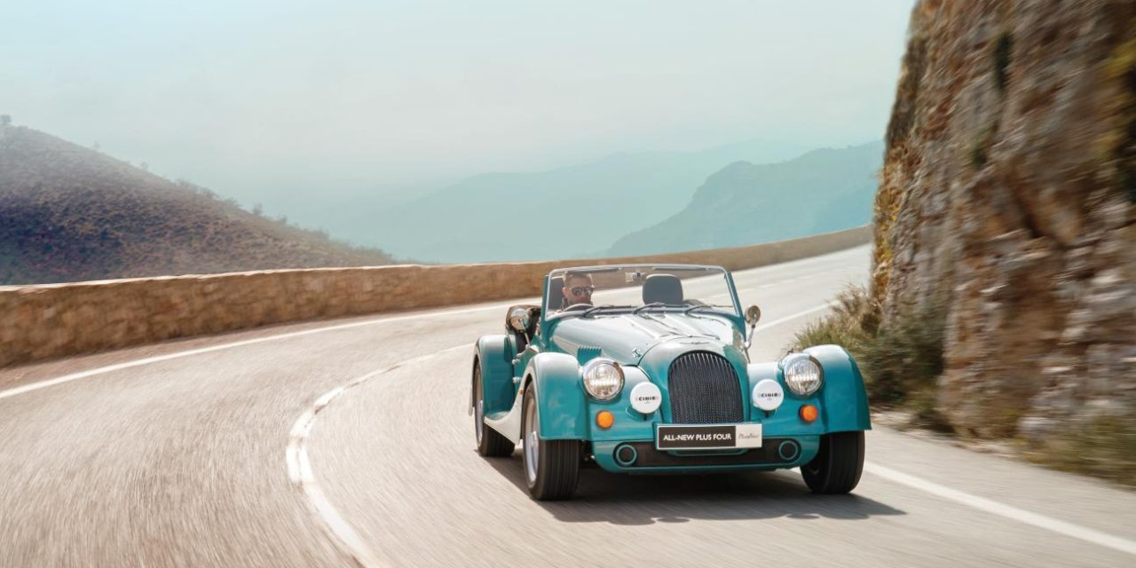 MORGAN MOTOR COMPANY REVOLUTIONISES ITS MOST-LOVED MODEL WITH LAUNCH OF ALL-NEW PLUS FOUR
