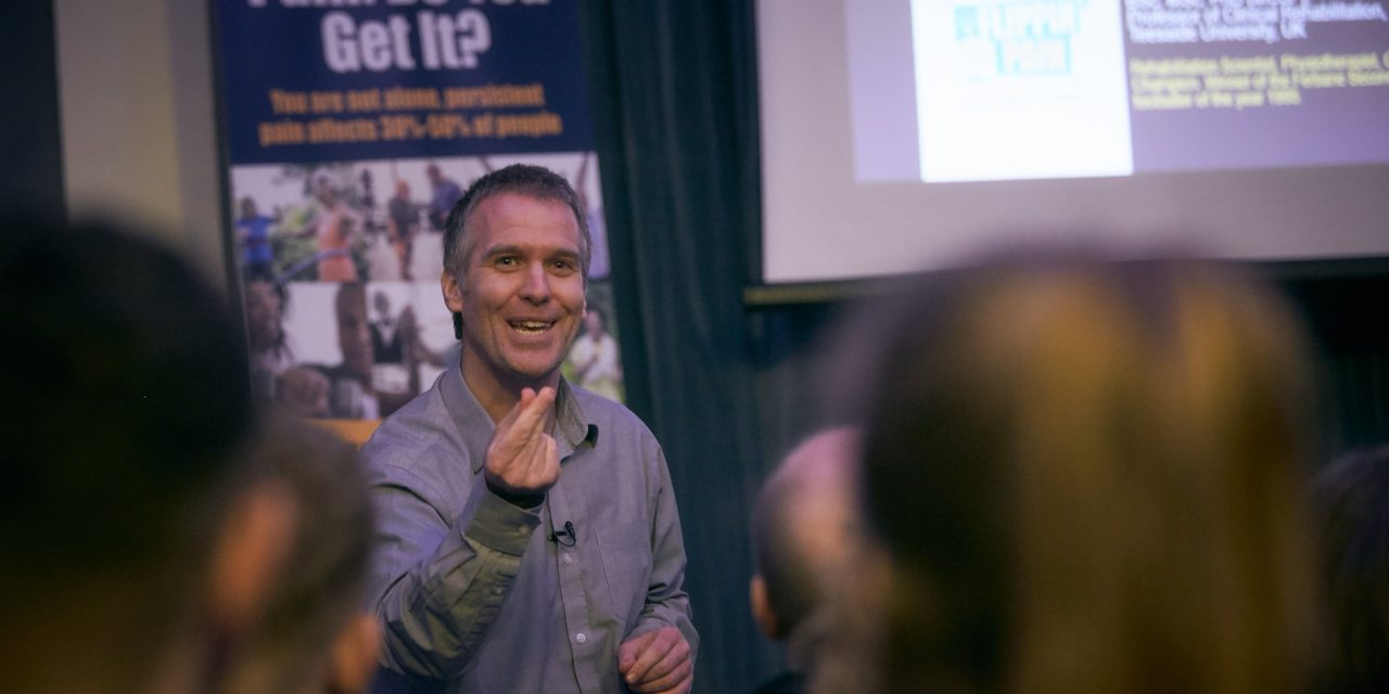 Leading professor sets out to 'make an impact' following appointment as Community Pain Champion for revolutionary health campaign