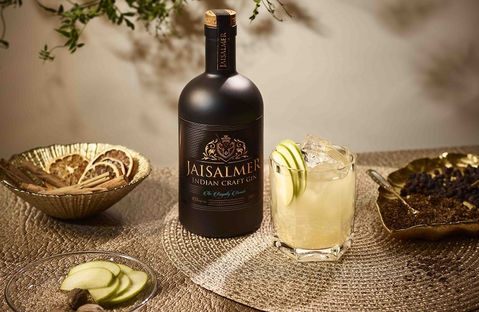 Celebrate the brief Indian Summer with Jaisalmer Indian Gin