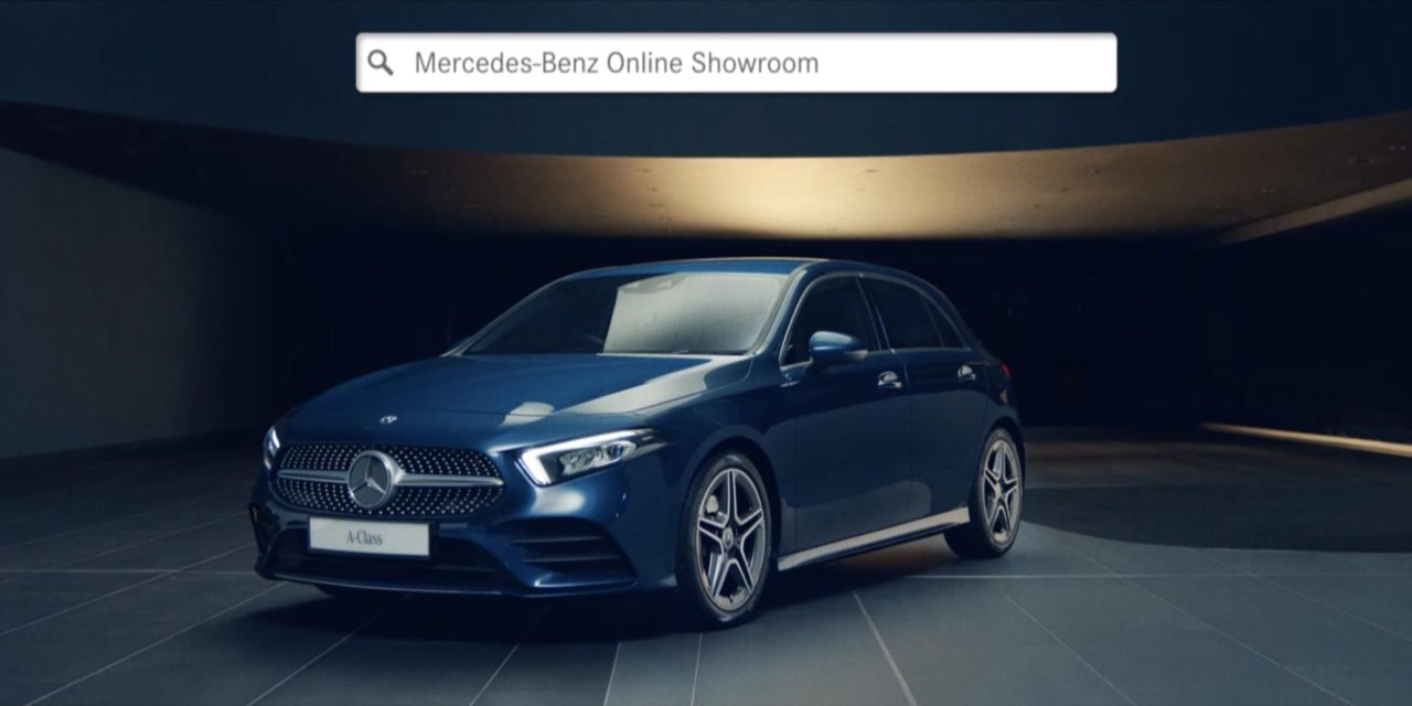 MERCEDES-BENZ CARS UK LAUNCHES NEW ONLINE SHOWROOM