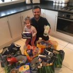 Ryecroft Glenton partner and his family embark on food package deliveries for the North East's vulnerable & key workers