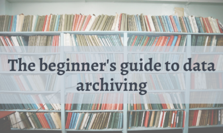 A Beginner's Guide to Data Archiving