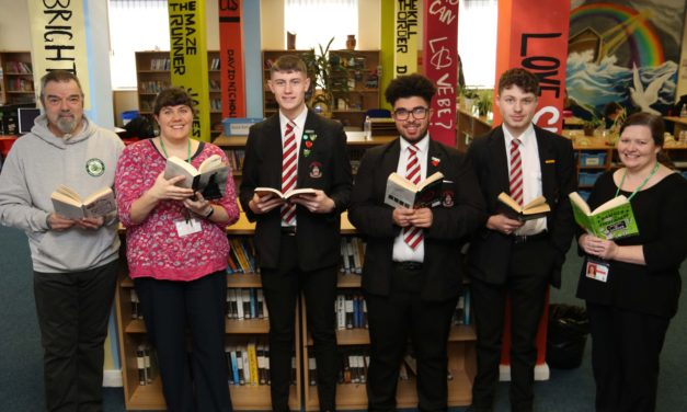 Whodunnit? as academy takes delivery of books donation
