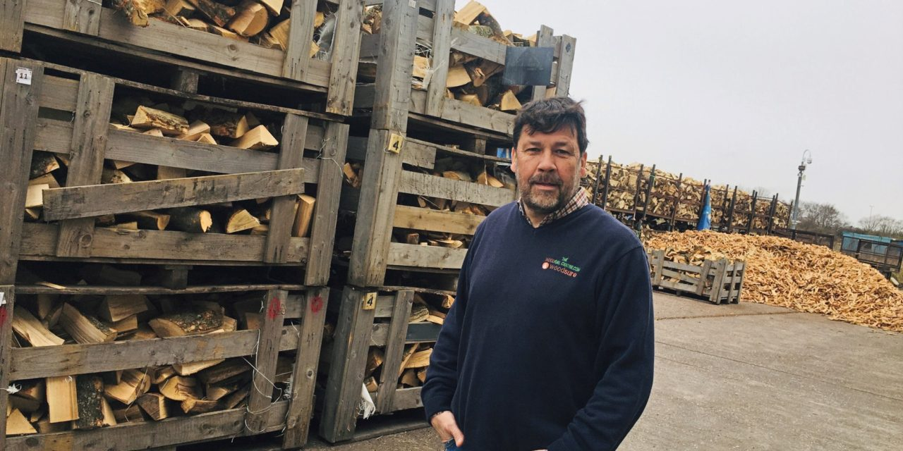 Wood fuel customers could boost charity donations following Government's wet wood heating ban