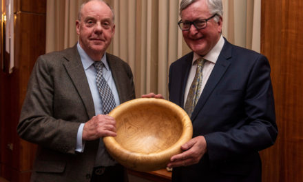 BSW Chairman recognised for Dedicated Service to Forestry at CONFOR awards