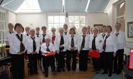 Songs from the musicals put a spring in the step of ladies' choir