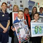 Artistic pupils help patients 'love their lungs'