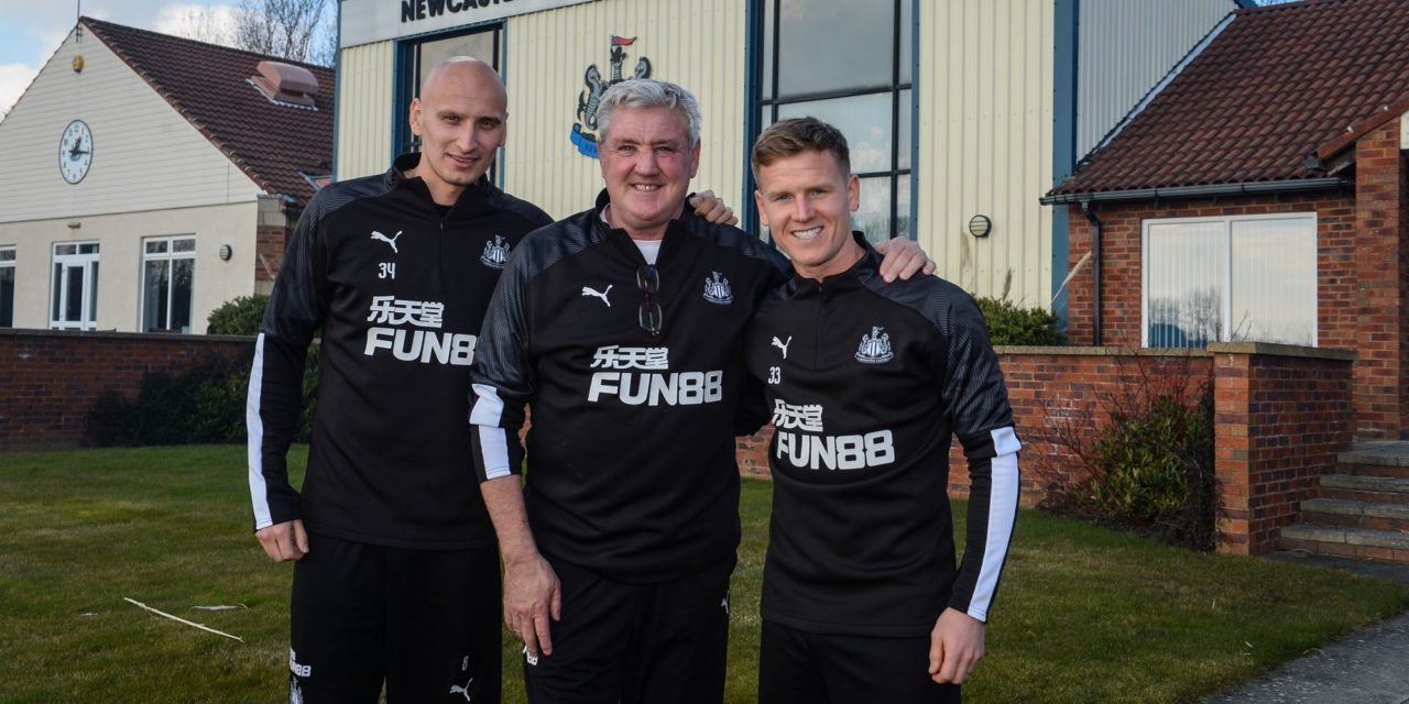 SHELVEY AND RITCHIE SIGN NEW CONTRACTS WITH NEWCASTLE UNITED