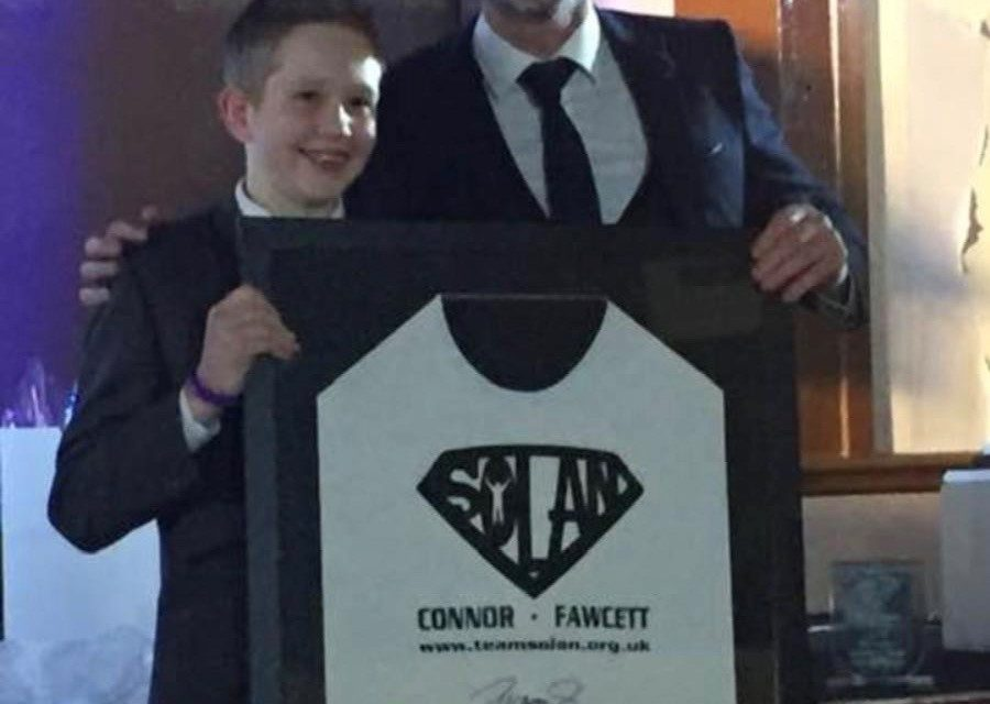 Young fundraiser rewarded for helping cancer patients