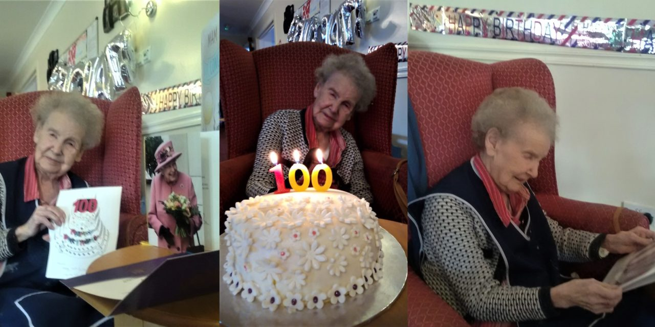 Surprise tea party to mark Thornaby resident's 100th birthday