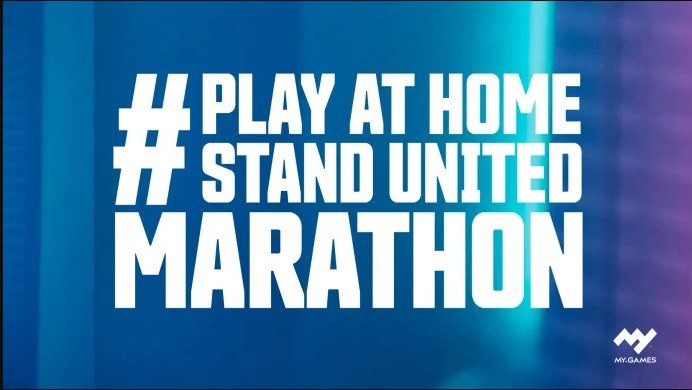 MY.GAMES launches #PlayAtHomeStandUnited campaign to encourage players to self isolate during COVID-19 outbreak