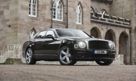 It's easy to weather the worst in a Bentley