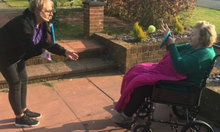 LET THE GAMES BEGIN AT HEBBURN CARE FACILITY DURING ISOLATION PERIOD