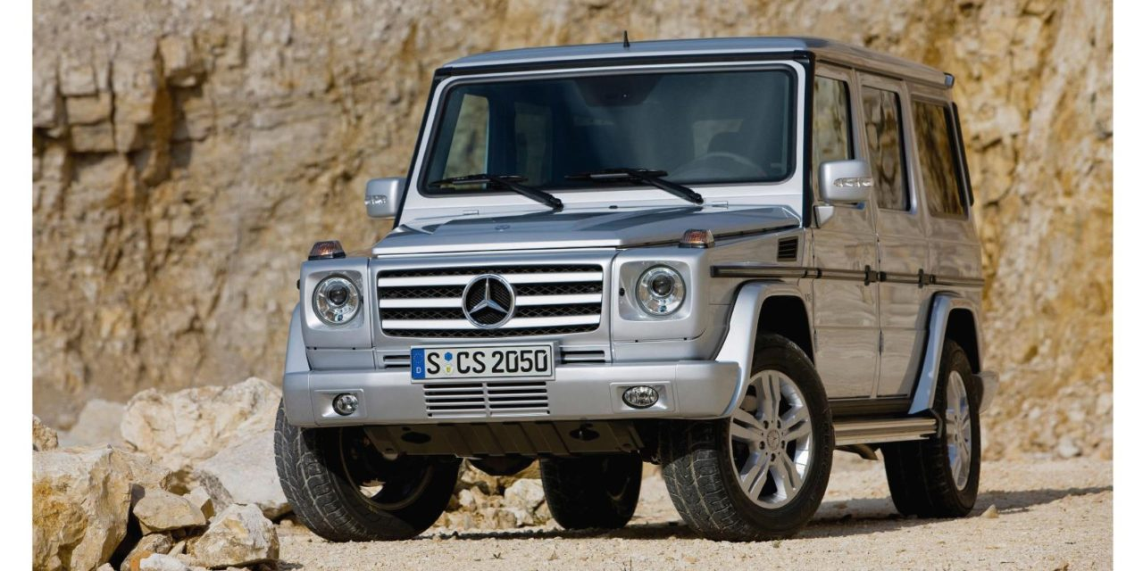 MERCEDES-BENZ G-WAGEN – ALL MODELS, INCLUDING AMG SPECIALS, 1979 TO 2006