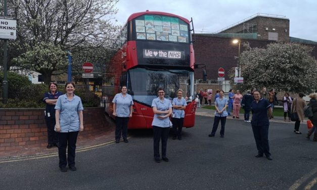Go North East will celebrate key workers tonight with 'Clap for our Carers' activities at its depots and regional hospitals