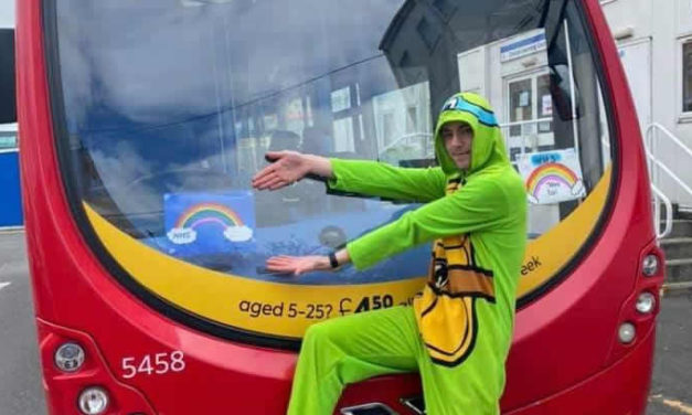 Hundreds of Go North East bus drivers spread Easter weekend cheer by wearing colourful clothing in support of fellow key workers