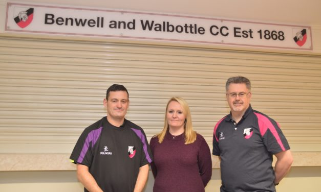 New Mower To Help Make Benwell & Walbottle Cricket Club A Cut Above The Rest