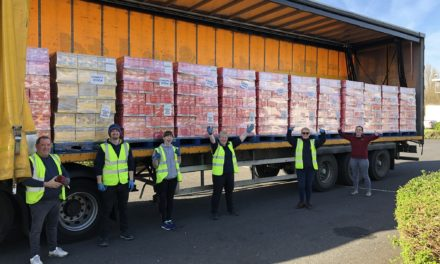 Easter Bunny delivers 15,000 chocolate eggs across Darlington thanks to charity iniative