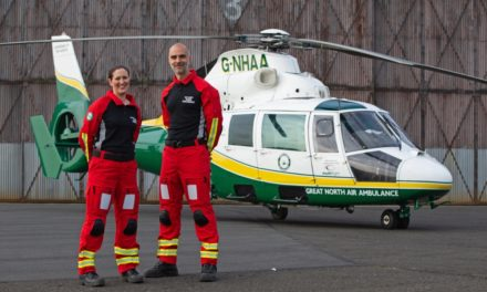 Air Ambulance Doctors Soaring In Style Thanks To Newcastle Building Society Grant