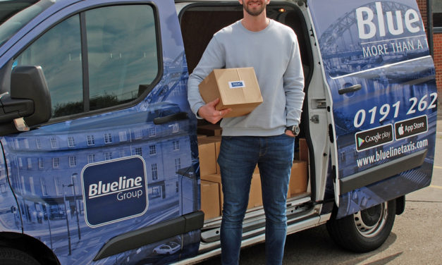 Blueline Taxis launches new delivery app, Grab