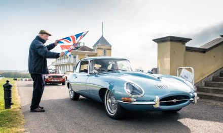 BY GEORGE! CLASSIC CAR OWNERS NAME THE JAGUAR E-TYPE THE BEST BRITISH CAR FOR ST GEORGE'S DAY