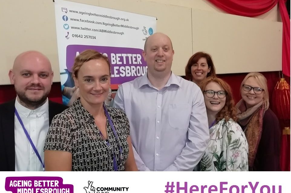 Ageing Better Middlesbrough's #HereForYou campaign