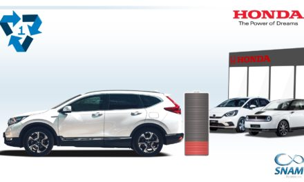 HONDA HYBRID & EV BATTERIES GET 'SECOND LIFE' IN NEW RECYCLING INITIATIVE