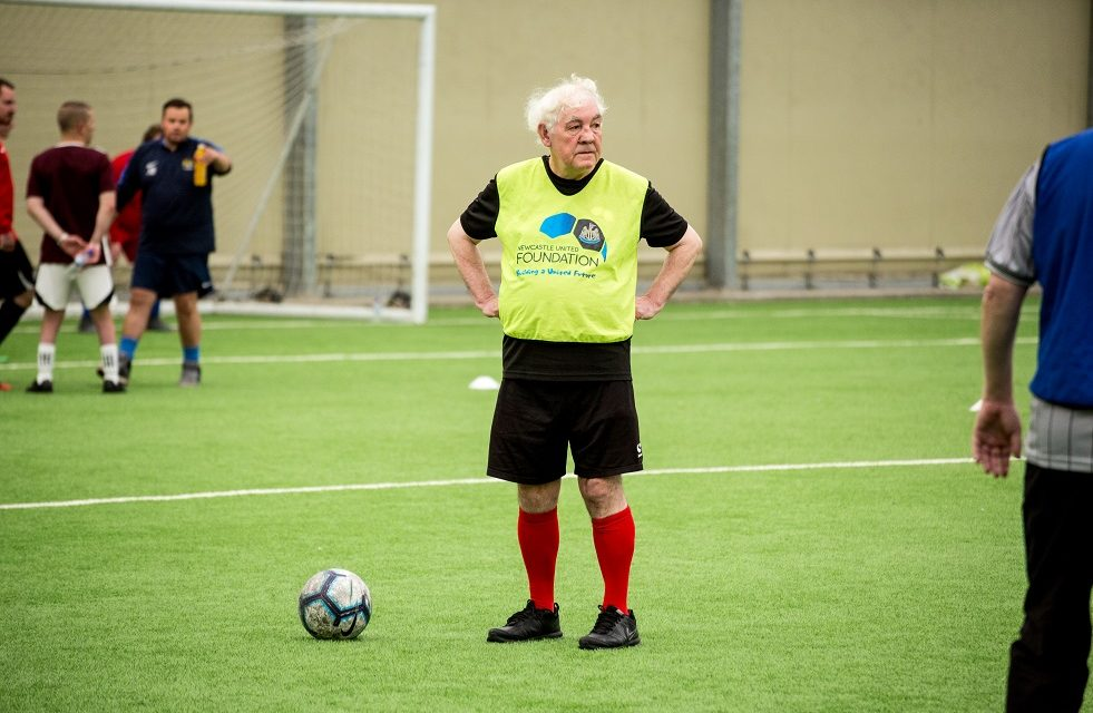 NEWCASTLE UNITED FOUNDATION COMBATS LONELINESS, STRESS AND ANXIETY WITH REGULAR TELEPHONE CALLS TO 224 WALKING FOOTBALLERS