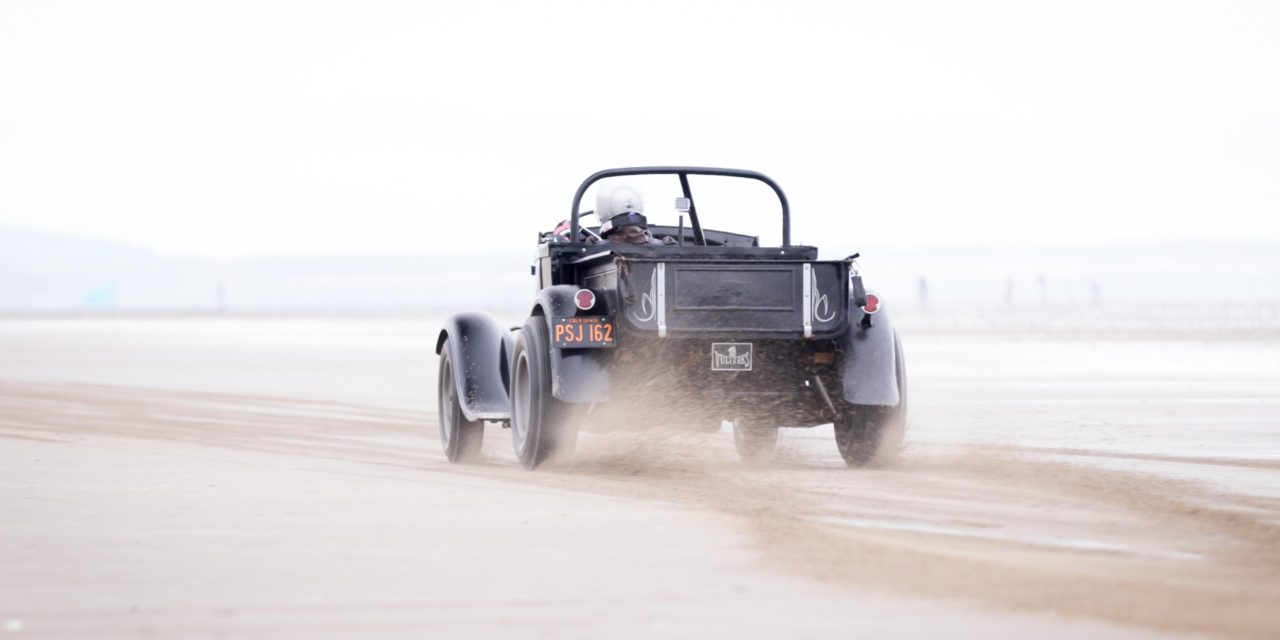 HOT RODS AND 'THE SPEED OF SAND' AT LONDON CONCOURS 2020