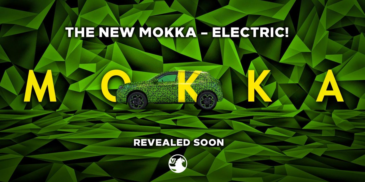 VAUXHALL CHARGES FORWARD WITH FIRST IMAGES OF NEW MOKKA