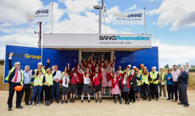 Banks Renewables' North East Wind Farms Generate 56,000 MWH Of Clean Green Electricity During 2019
