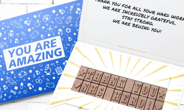 Thank our NHS heroes with a chocolate gift