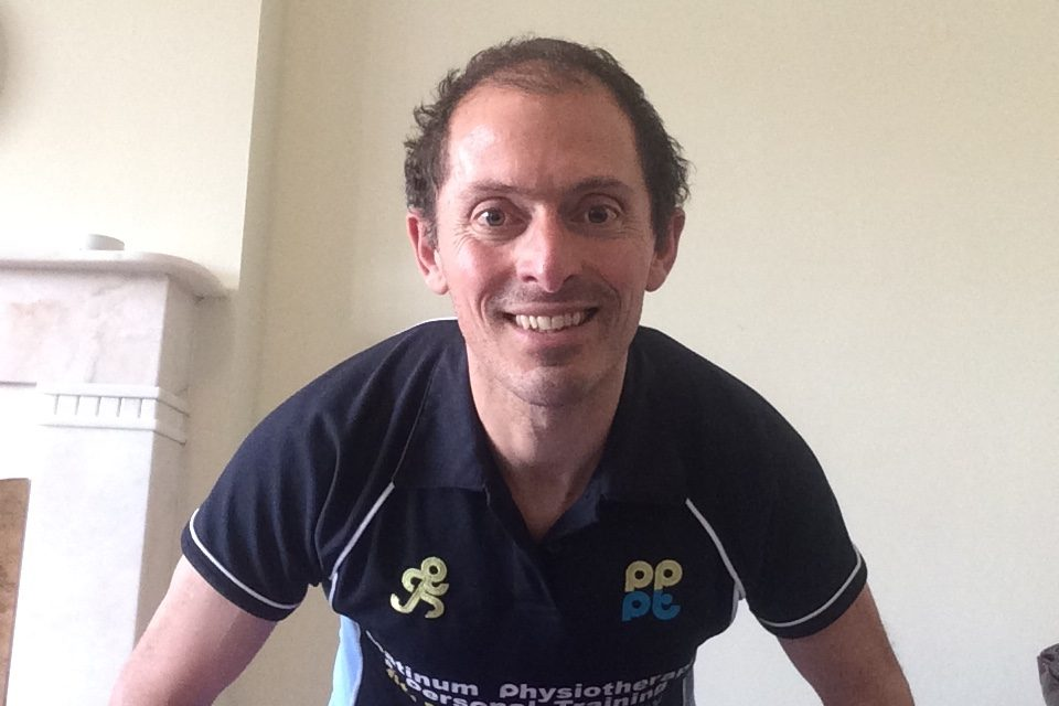 Leading physiotherapist devises isolation home fitness programme