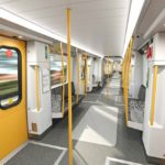 Take a tour inside our new Metro train