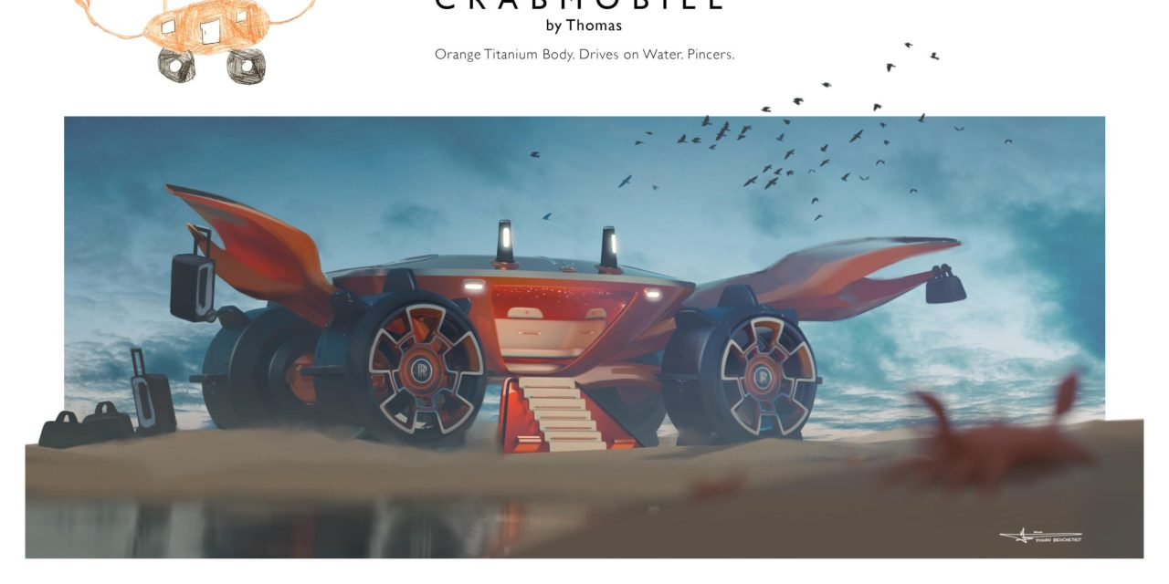 ROLLS-ROYCE CHALLENGES YOUNG MINDS TO DESIGN THEIR OWN LUXURY CAR