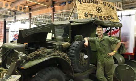 LUXEMBOURG YOUNGSTERS KEEP WWII DODGE ROLLING