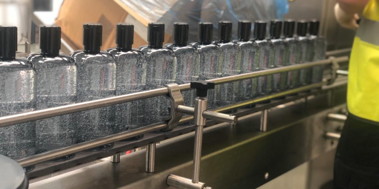 Company increases hand sanitiser production but further growth thwarted by lack of raw materials
