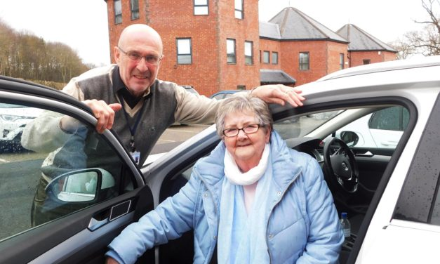 Tynedale Hospice At Home's Drivers On The Right Road With £3,000 Newcastle Building Society Grant