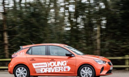 10-YEAR OLDS CAN HAVE THEIR FIRST DRIVING LESSON BEHIND THE WHEEL OF THE ALL-NEW VAUXHALL CORSA SE PREMIUM