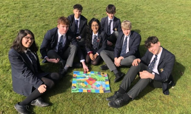 Creative Ripon Grammar students invent new eco-friendly board game