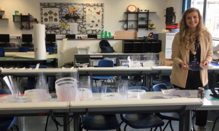 College technology staff innovate protective equipment for frontline staff