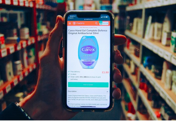 Pharmacists at medino have reported a sharp 1044% rise in the demand for hand sanitiser in the UK