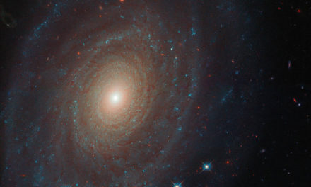 Hubble Spots a Spiral With a Past