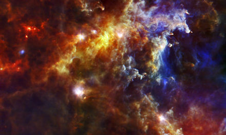 Rosette Nebula Gives Birth to Stars