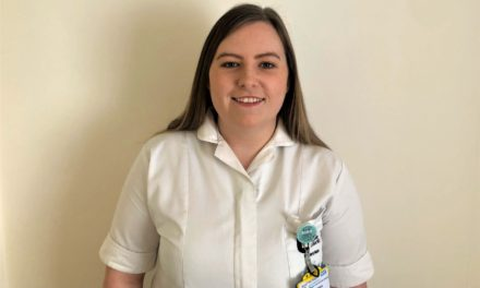 Student nurse joins the front line to support the fight against Covid-19