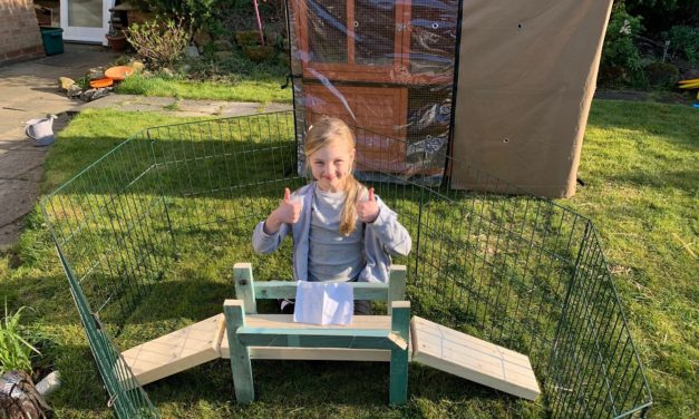 Creative kids build bridges for stay at home design project