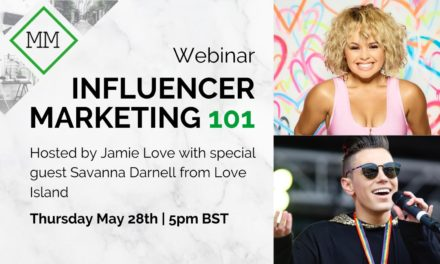 Monumental Marketing is Hosting an Influencer Marketing Webinar