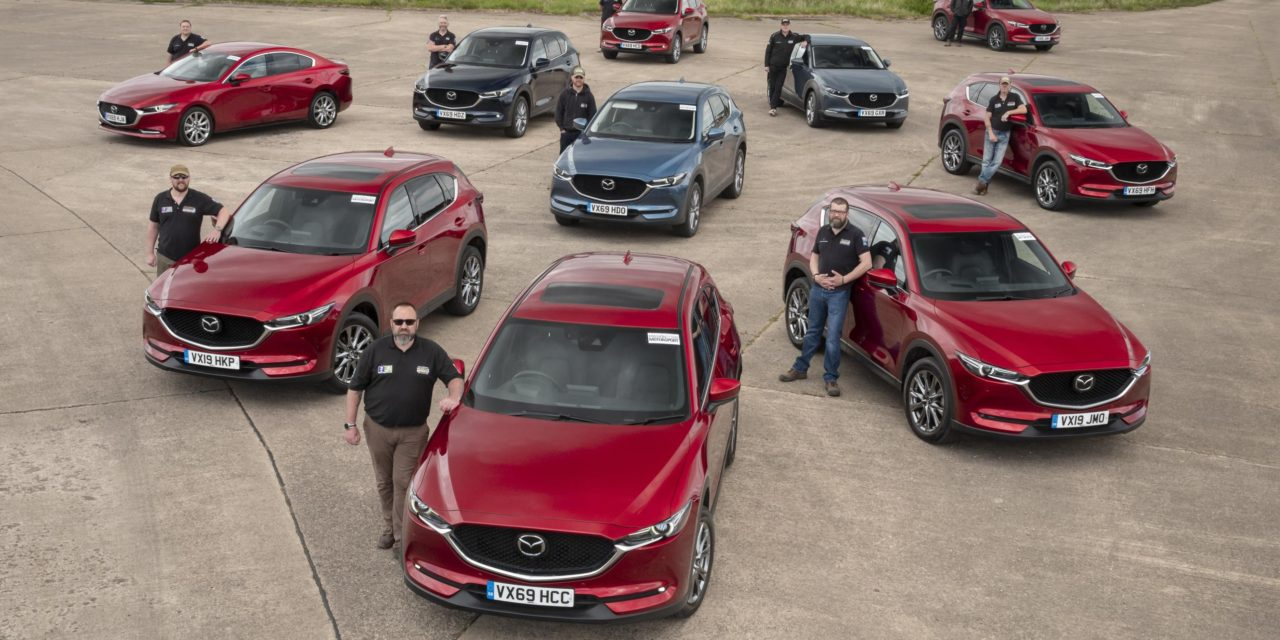 MAZDA SUPPLIES CARS TO TEAM RUBICON UK FOR COVID19 RESPONSE